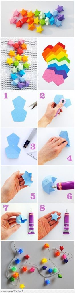 Diy Dekorasi Kamar Si Kecil Dengan Kertas Origami Magiclean