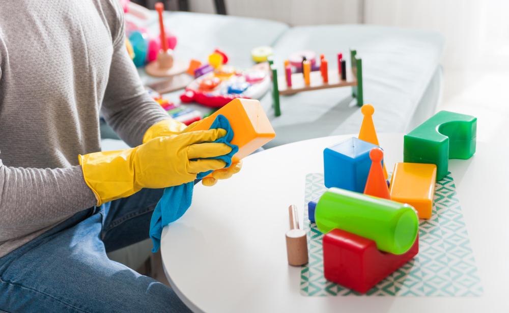 Image result for membersihkan mainan